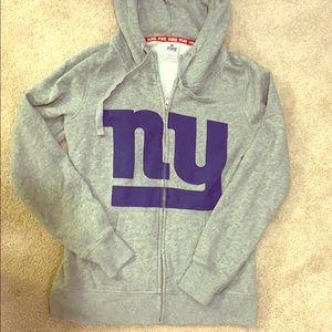 NY Giants women's hoodie